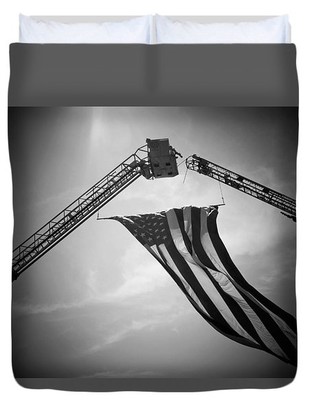 Honoring Those That Have Gone Before Duvet Cover by Susan  McMenamin