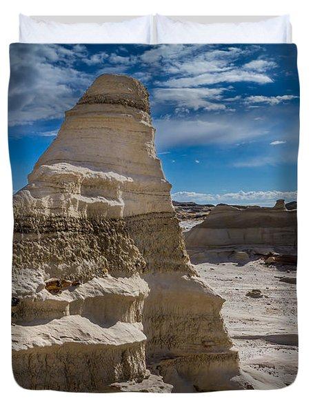 Hoodoo Rock Formations Duvet Cover