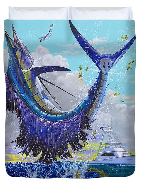 Hooked Up Off004 Duvet Cover by Carey Chen