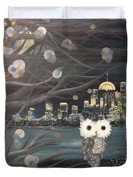Hoolandia - Hoo's City 02 Duvet Cover