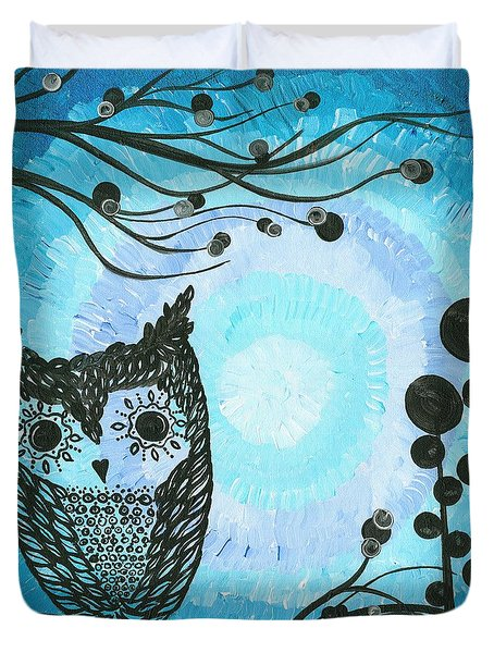 Hoolandia Contrasts 02 Duvet Cover