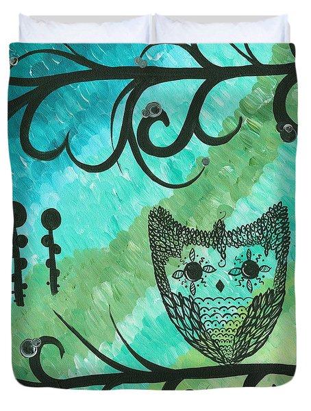 Hoolandia Contrasts 04 Duvet Cover