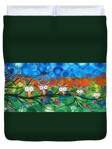 Hoolandia Family Tree 03 Duvet Cover