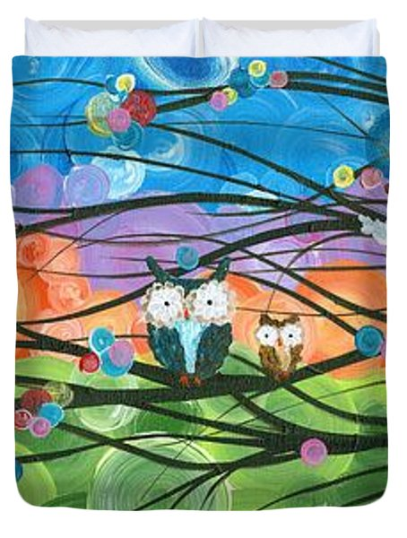 Hoolandia Family Tree 04 Duvet Cover