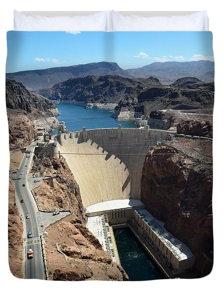 Hoover Dam Duvet Cover by RicardMN Photography