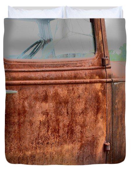 Hop In Duvet Cover by Lynn Sprowl