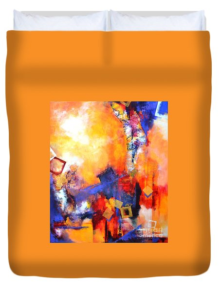 Hope Duvet Cover by Betty M M   Wong