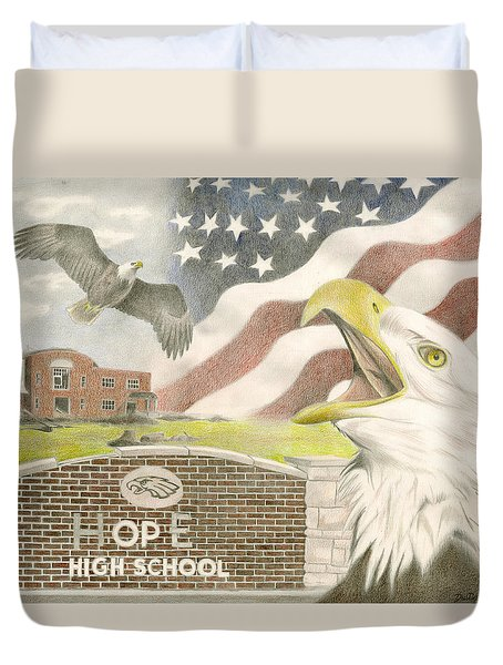 Hope High School Duvet Cover