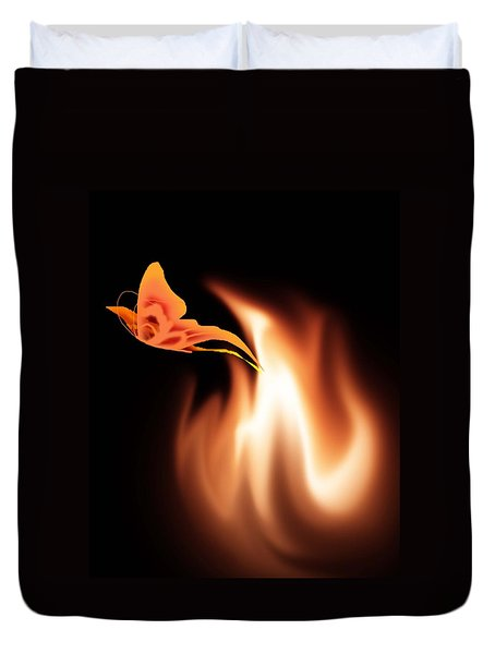 Hope Is The Flame Duvet Cover