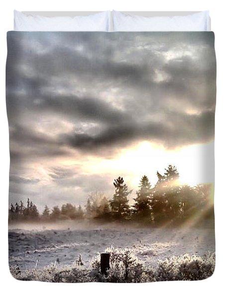 Hope - Landscape Version Duvet Cover