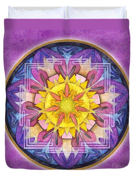 Hope Mandala Duvet Cover
