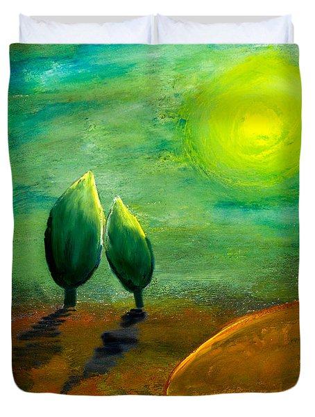 Hope Duvet Cover by Nirdesha Munasinghe