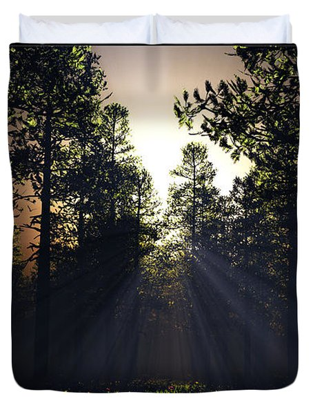 Hope Springs Eternal... Duvet Cover by Tim Fillingim