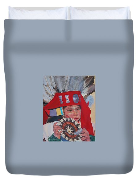 Hopi Basket Dancer Duvet Cover