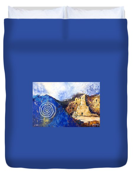 Hopi Spirit Duvet Cover by Jerry McElroy
