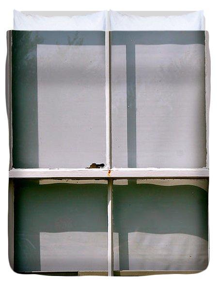 Hopper Was Here Duvet Cover