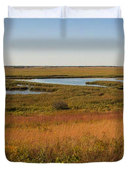 Horicon Marsh Duvet Cover