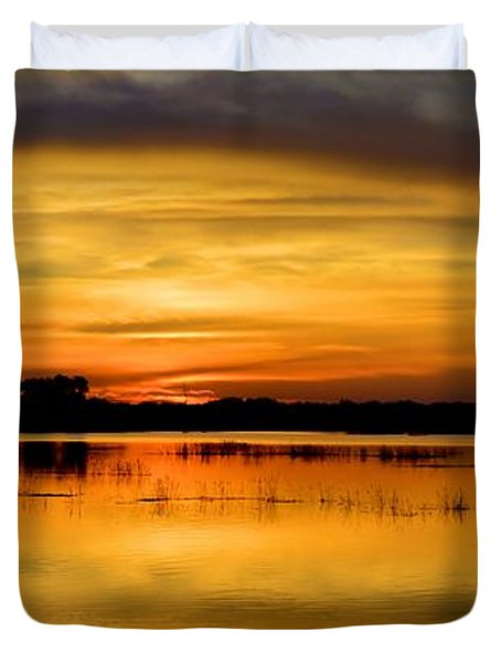 Horizons Duvet Cover by Bonfire Photography