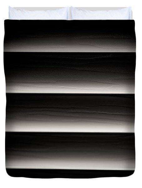 Horizontal Blinds Duvet Cover