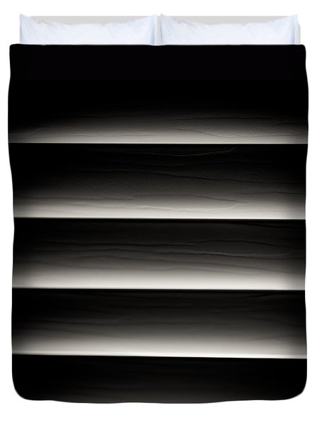 Horizontal Blinds Duvet Cover