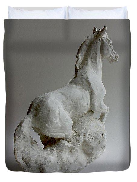 Horse 2 Duvet Cover by Derrick Higgins
