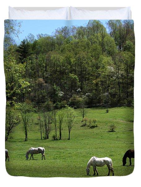 Horse 27 Duvet Cover