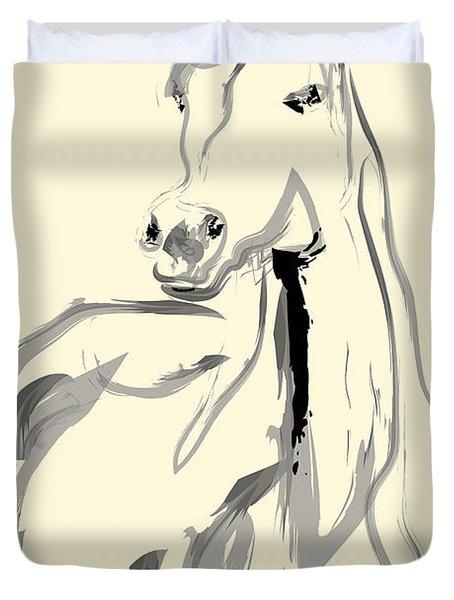 Horse - Arab Duvet Cover