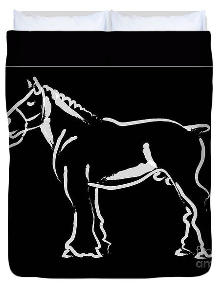 Horse - Big Fella Duvet Cover
