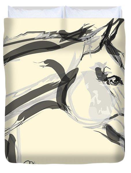Horse - Lovely Duvet Cover