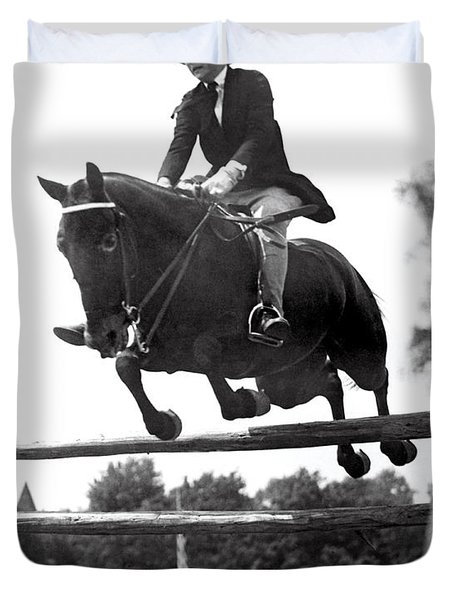 Horse Show Jump Duvet Cover