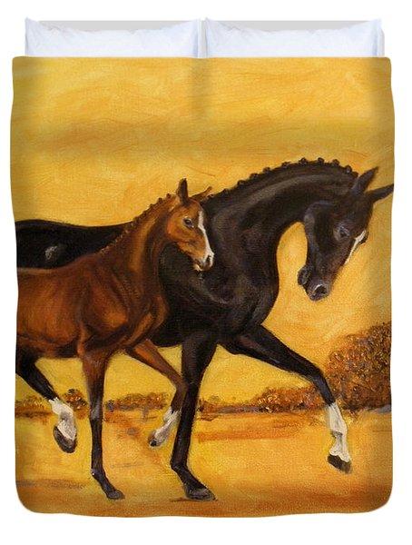 Horse - Together 2 Duvet Cover