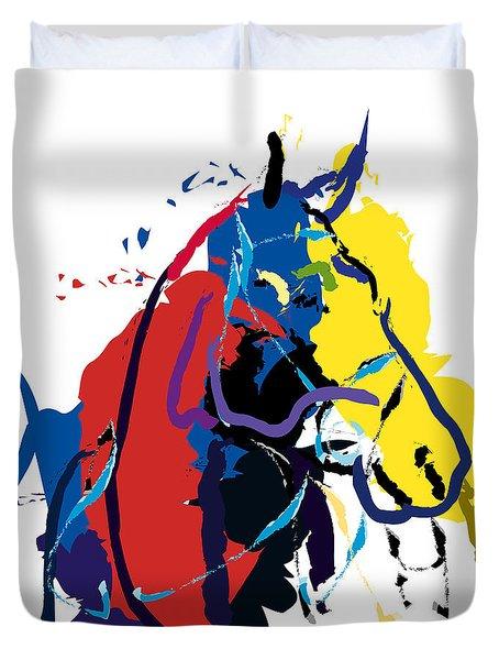 Horse- Zam Duvet Cover