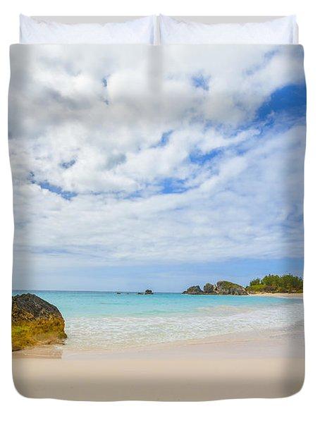 Horseshoe Bay Duvet Cover by Verena Matthew