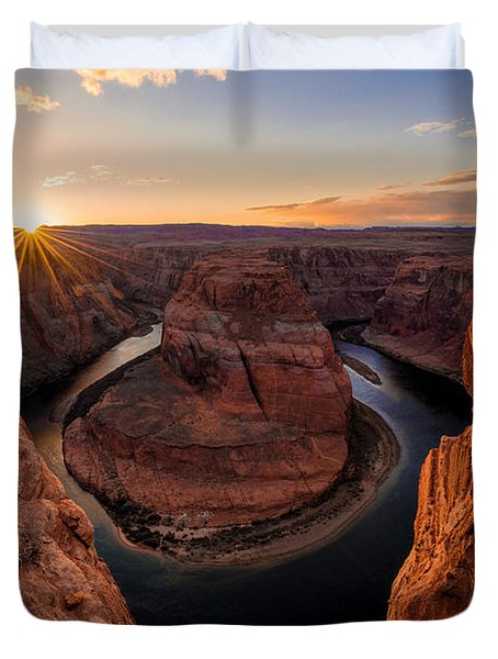 Horseshoe Bend Duvet Cover