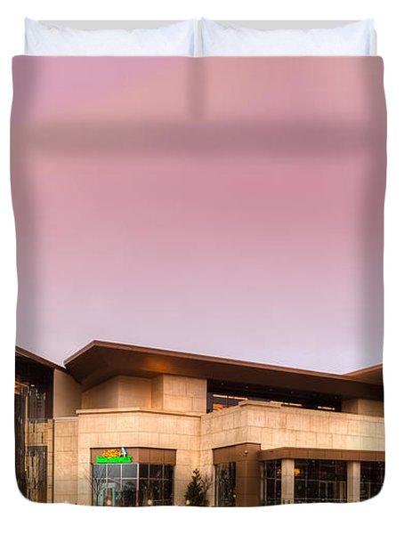 Horseshoe Casino Red Dawn Duvet Cover
