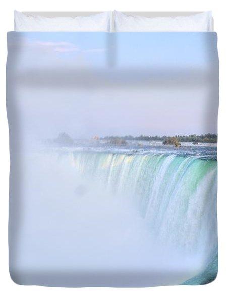 Horseshoe Falls Duvet Cover by Kathleen Struckle