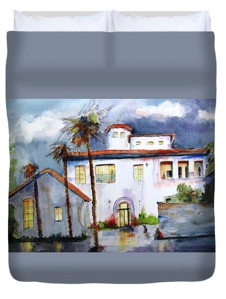 Hospitality House Duvet Cover by Carlin Blahnik