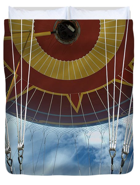 Hot Air Baloon Duvet Cover