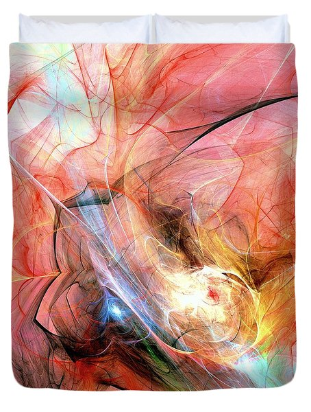 Hot Duvet Cover by Anastasiya Malakhova