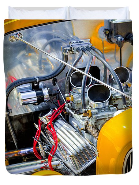 Hot Rod Duvet Cover by Bill Wakeley