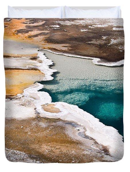 Hot Spring  Duvet Cover