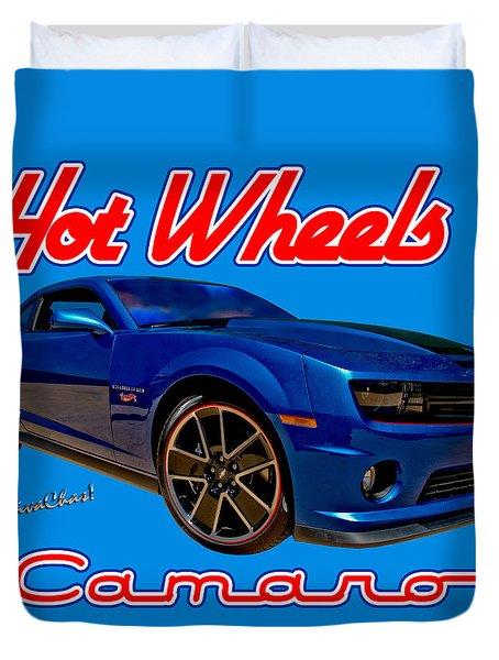 Hot Wheels Camaro Duvet Cover