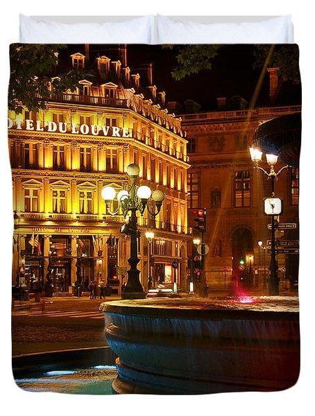 Hotel Du Louvre Duvet Cover