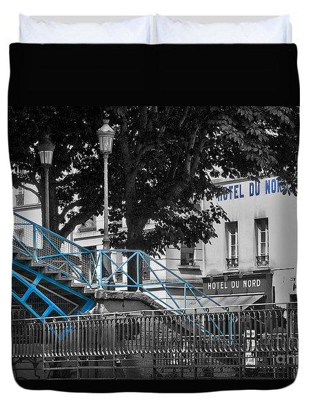 Hotel Du Nord Duvet Cover