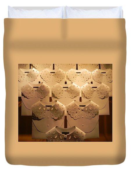 Louis Vuitton Window Display Duvet Cover