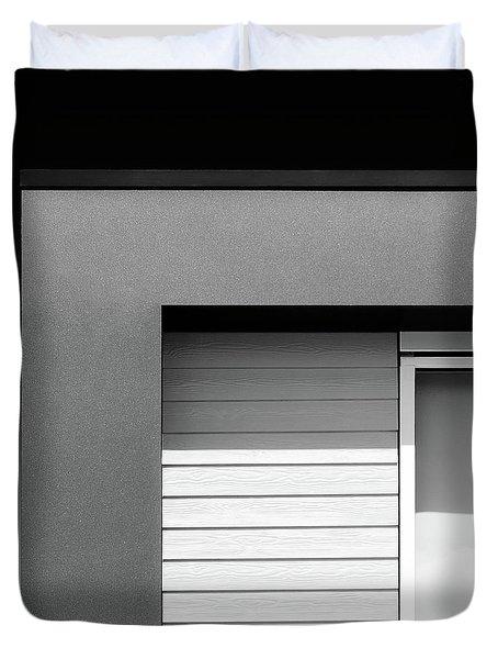 House Corner Duvet Cover by Dave Bowman