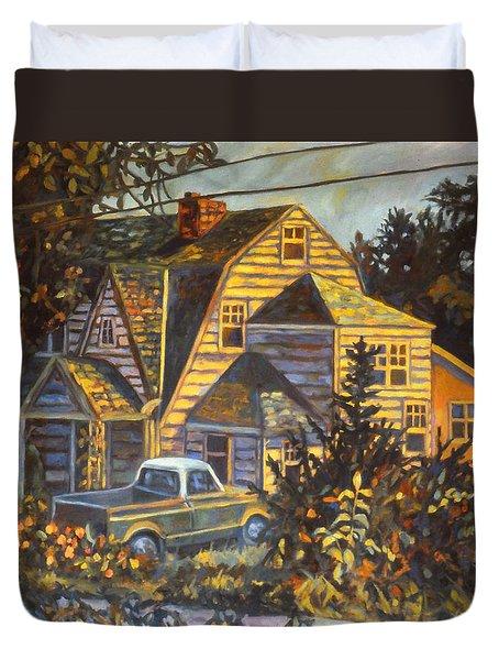 House In Christiansburg Duvet Cover
