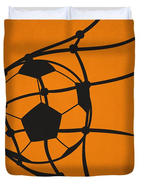 Houston Dynamo Goal Duvet Cover