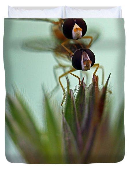Hover Bugs Duvet Cover