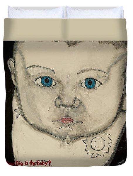 How Big Is The Baby Duvet Cover by Darlene Graeser